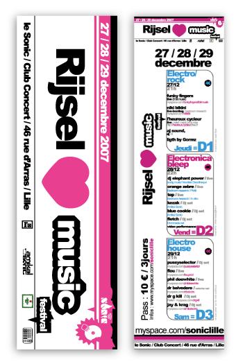 Festival rijsel love music