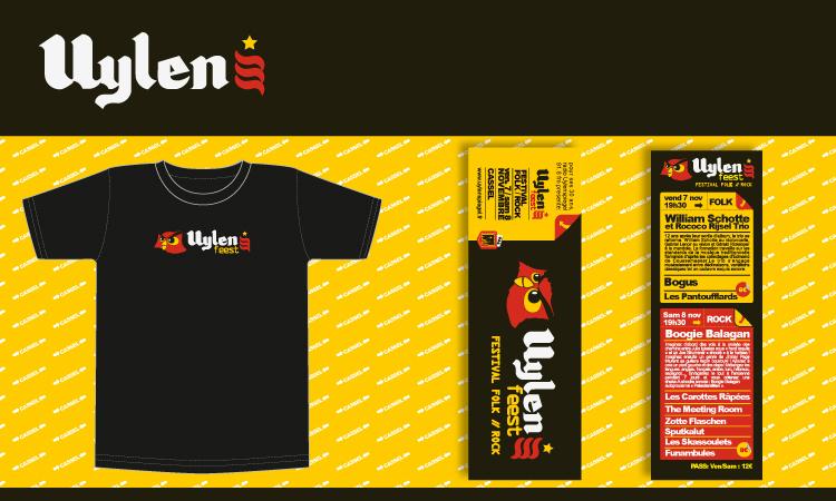 logotype, T-shirt, flyer